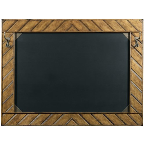 Broyhill Furniture New Vintage Ellen's Chalkboard with 2 Hooks