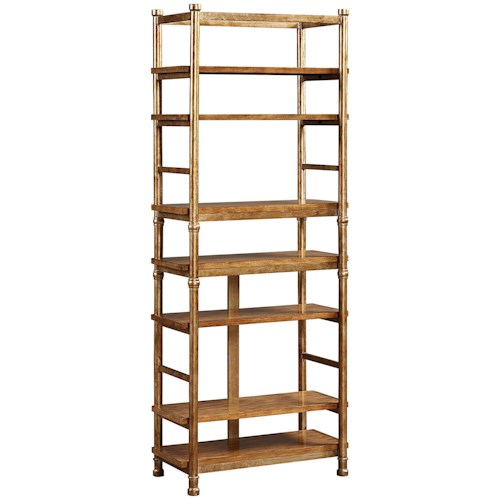 Broyhill Furniture New Vintage Etagere with 7 Shelves