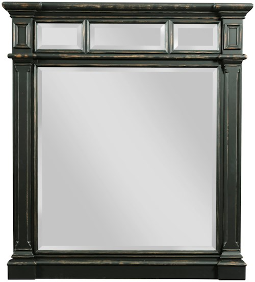 Broyhill Furniture New Vintage Vertical Mirror with Beveled Glass