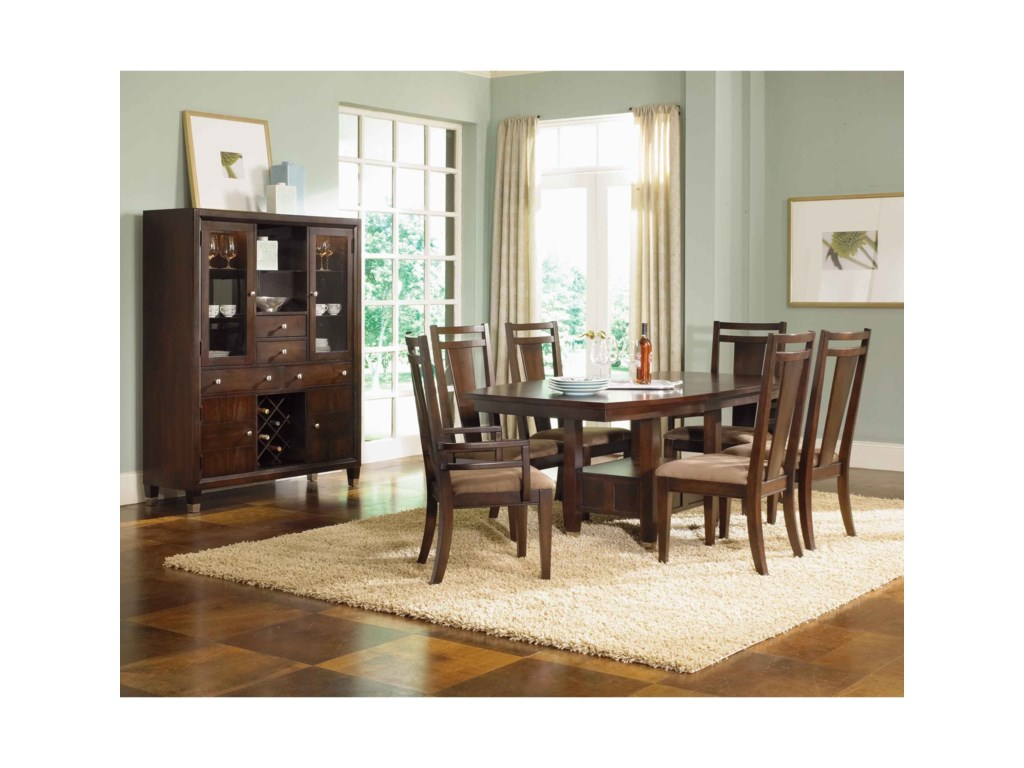 Northern Lights 5312 60 Dining Buffet And China Hutch By Broyhill Furniture