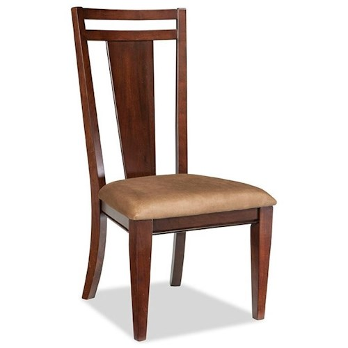 Broyhill Furniture Northern Lights Side Chair with Upholstered Seat