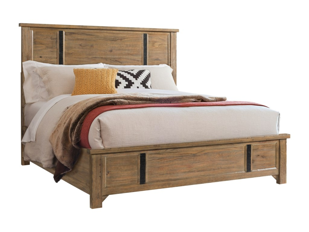 Broyhill Furniture Park CityKing Panel Bed