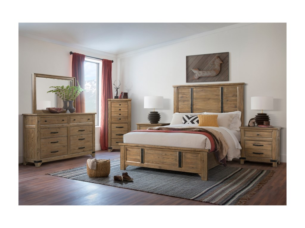 Broyhill Furniture Park CityQueen Panel Bed