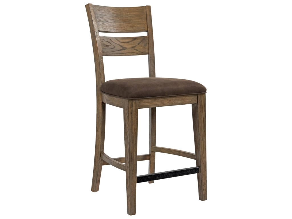 Broyhill Furniture Park CityUpholstered Seat Counter Stool