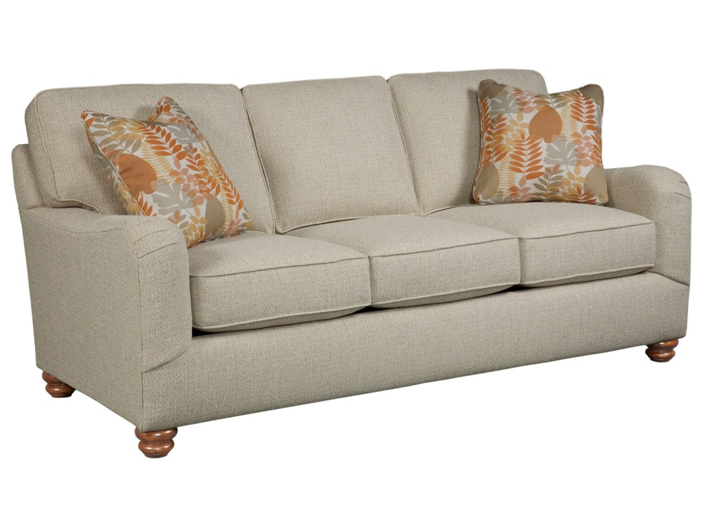 ... Sofas Broyhill Furniture Parker Traditional Queen Air Dream Sleeper.  Item Shown May Not Represent Exact Features Indicated - Broyhill Furniture Parker Traditional Queen Air Dream Sleeper