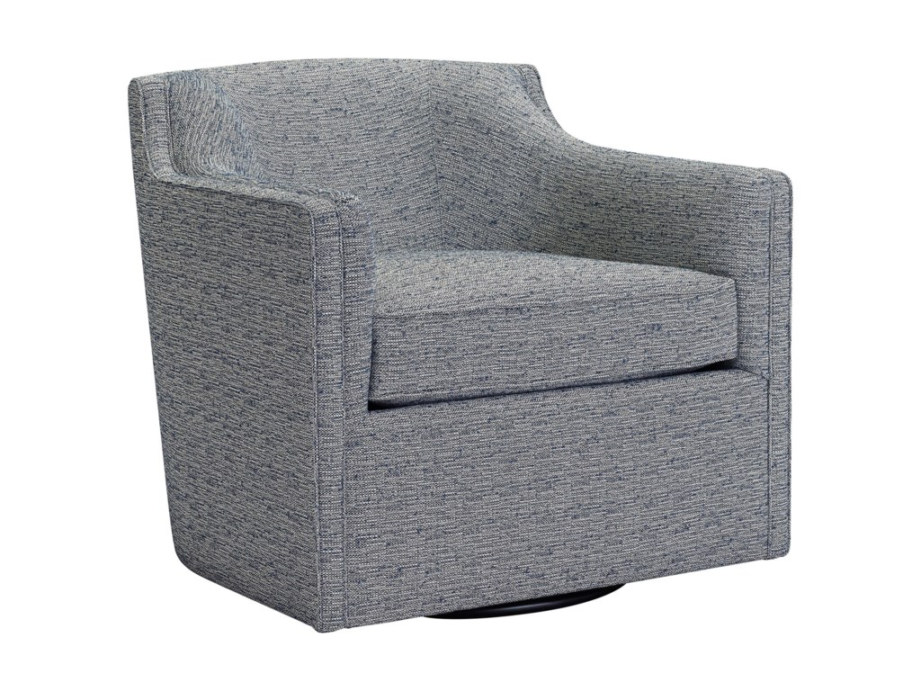 Broyhill Furniture Personalities Accent ChairsGayle Swivel Chair