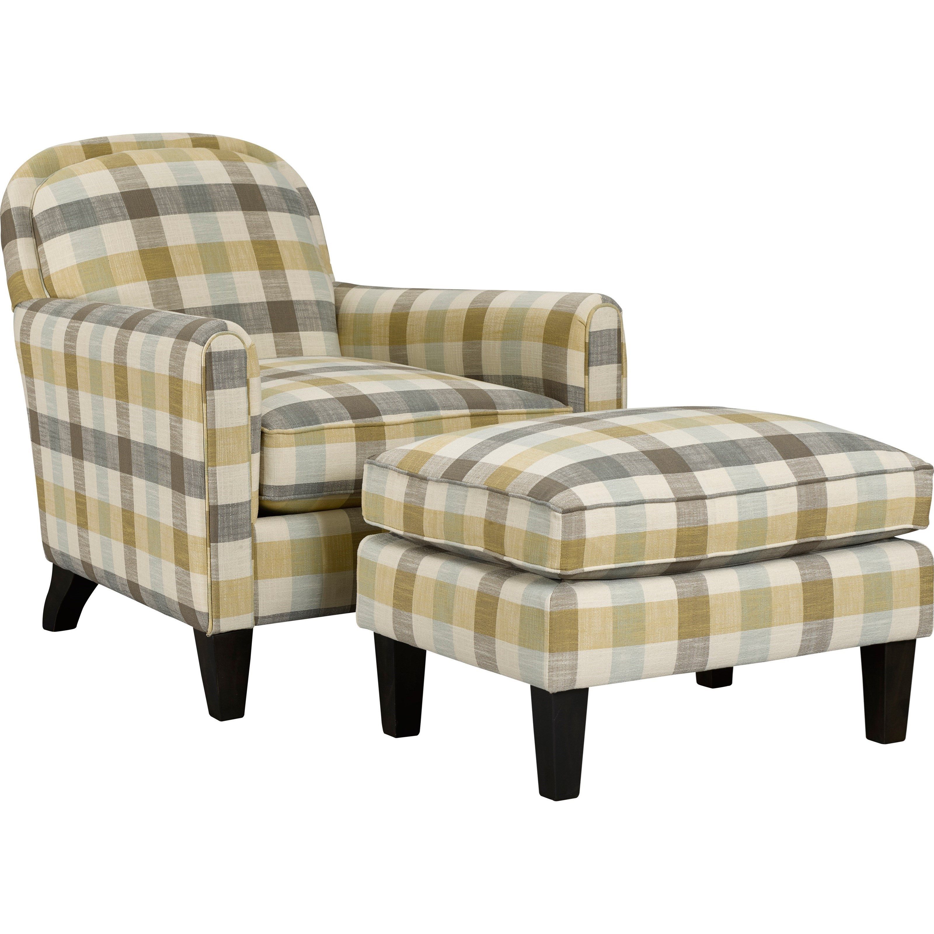 Attrayant Broyhill Furniture Personalities Accent ChairsSquire Chair And Ottoman ...