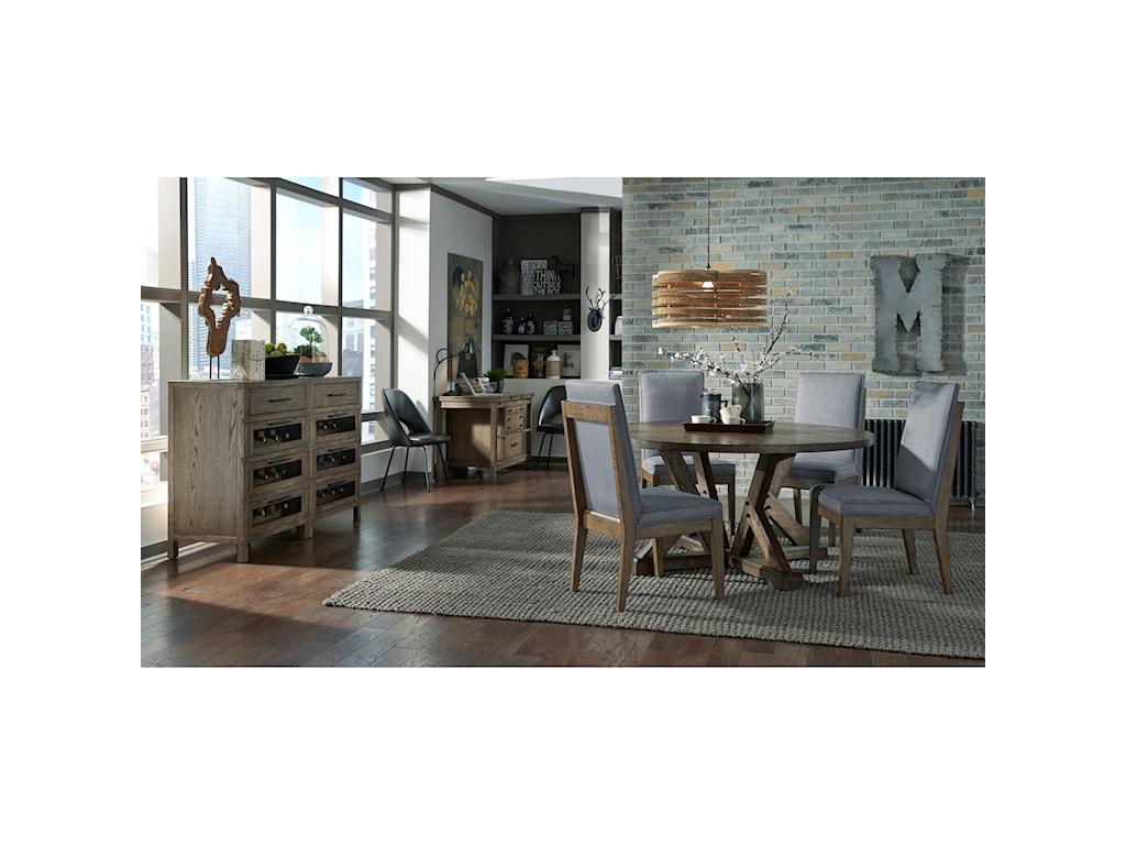 Broyhill Furniture PieceworksDobbin Street Piece Works Dining Table