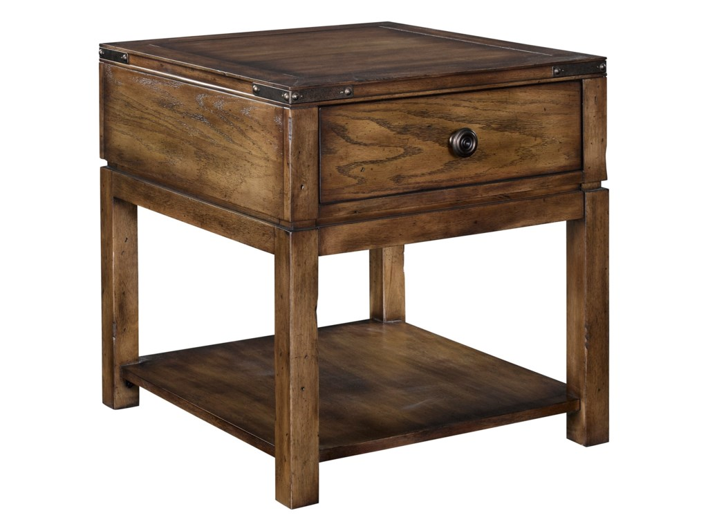 Broyhill Furniture Pike PlaceDrawer End Table