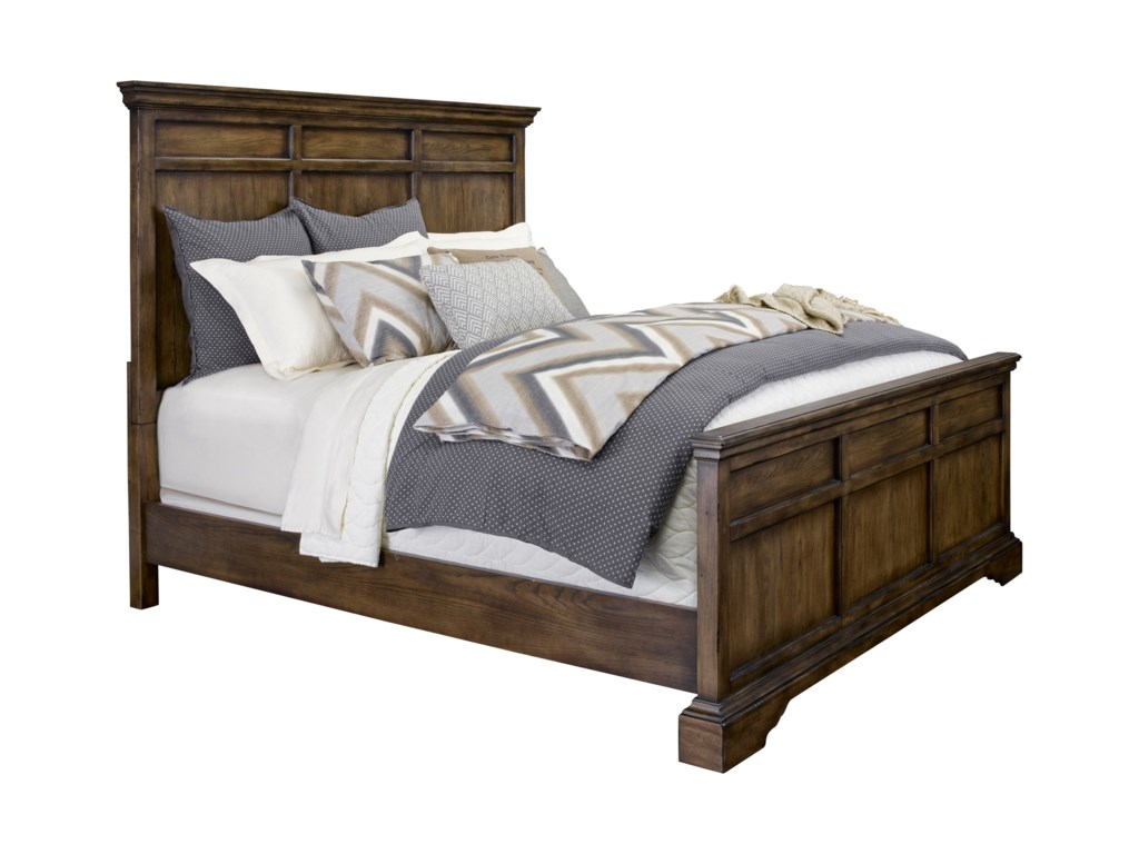 Broyhill Furniture Pike PlaceKing Panel Bed