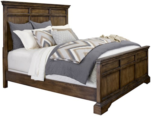 Broyhill Furniture Pike Place King Panel Bed
