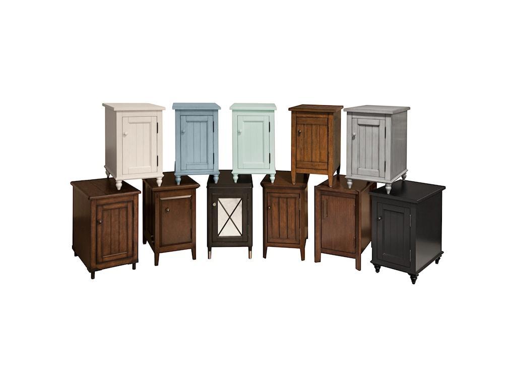 Broyhill Furniture 8712Kiwi Green Accent Table