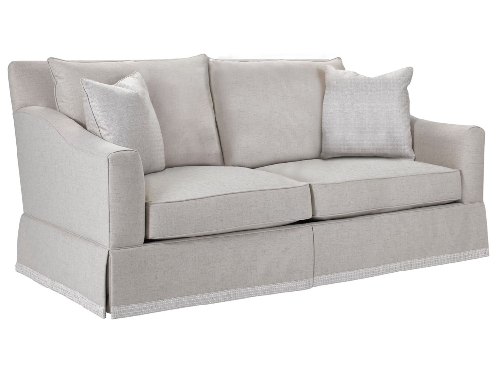 Broyhill Furniture Regina 4284-2B Apartment Sofa with Decorative ...