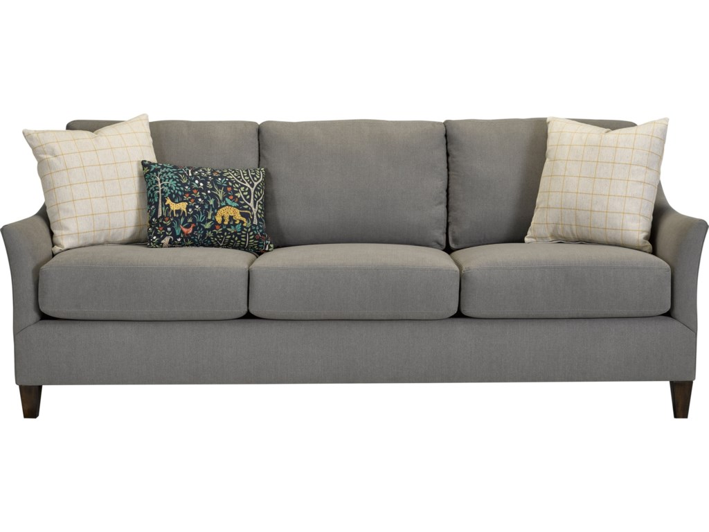 Broyhill Furniture Riversqueen Size Memory Sofa Sleeper