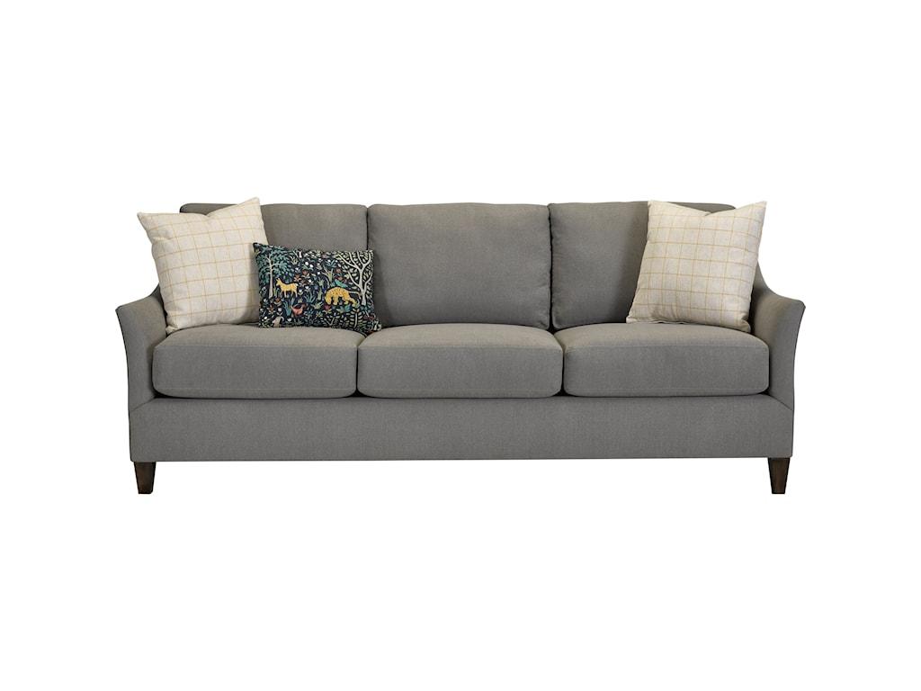 Broyhill Furniture RiversQueen Size Memory Sofa Sleeper