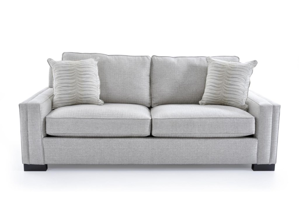 Broyhill Furniture Rocco 4280 2 4697 92 Cf Tp Apartment Sofa With Sleek Track Arms Baer S Sofas