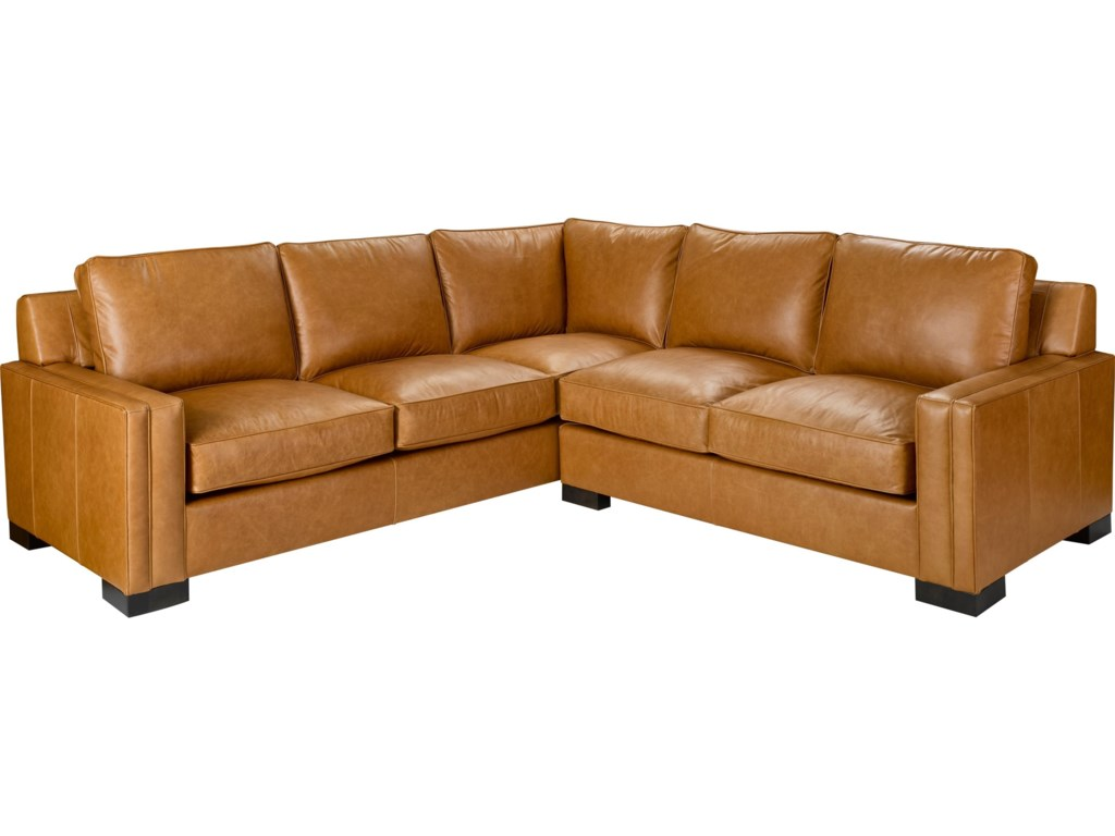 Broyhill Furniture Rocco 2 Piece Sectional With Corner Sofa Becker World Sofas