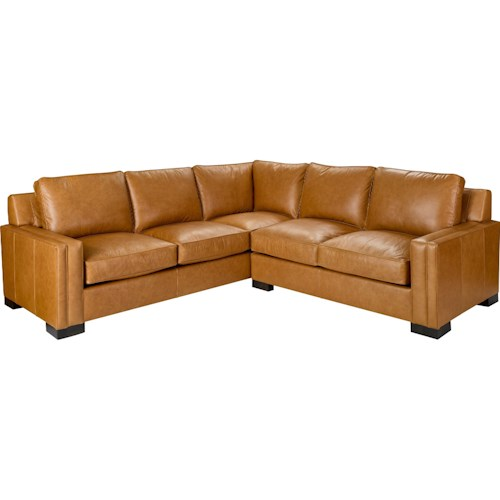 Broyhill Furniture Rocco 2 Piece Sectional with Corner Sofa ...