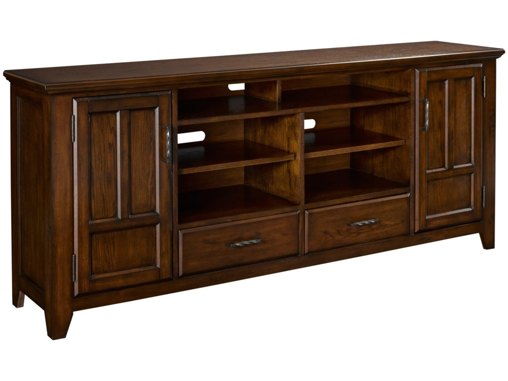 Rushmead Transitional 75 Entertainment Console By Broyhill Furniture