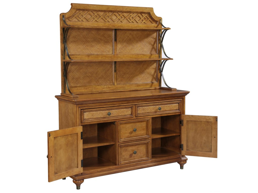 Broyhill Furniture Samana CoveServer & Hutch