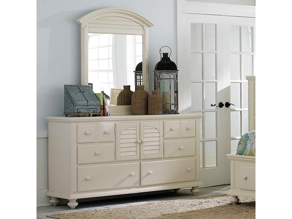 Broyhill Furniture Seabrooke 2 Door Dresser with Mirror ...