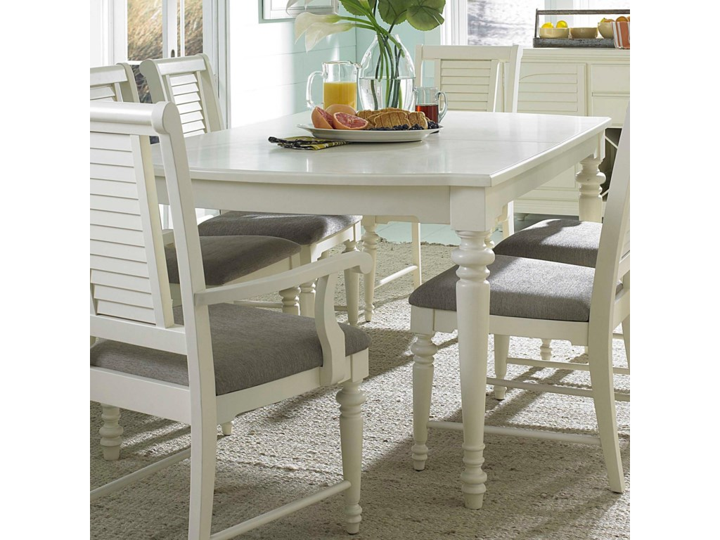 Broyhill furniture seabrooke 4471 532 turned leg dining table broyhill furniture seabrookeleg dining table workwithnaturefo
