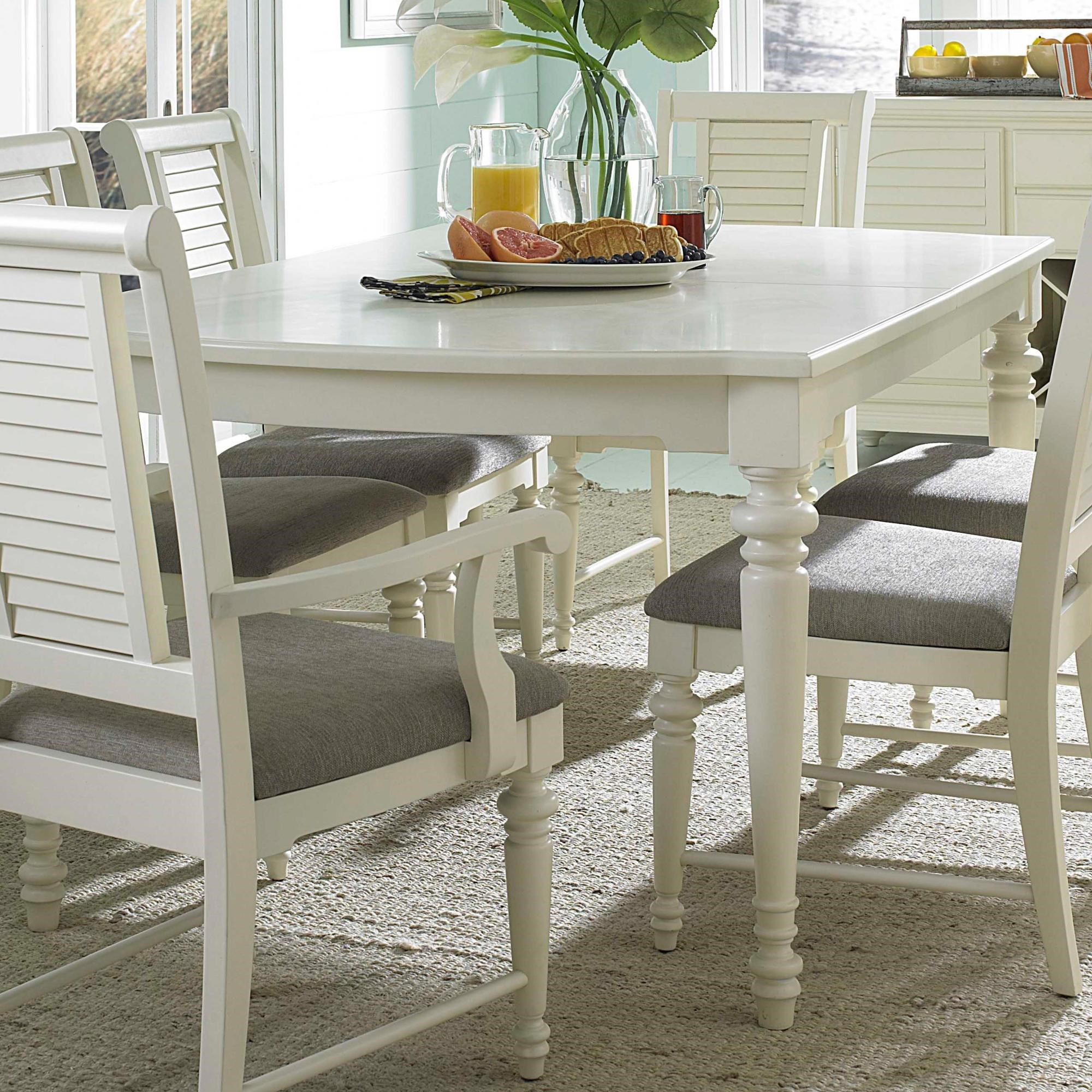 Broyhill Furniture SeabrookeLeg Dining Table ...