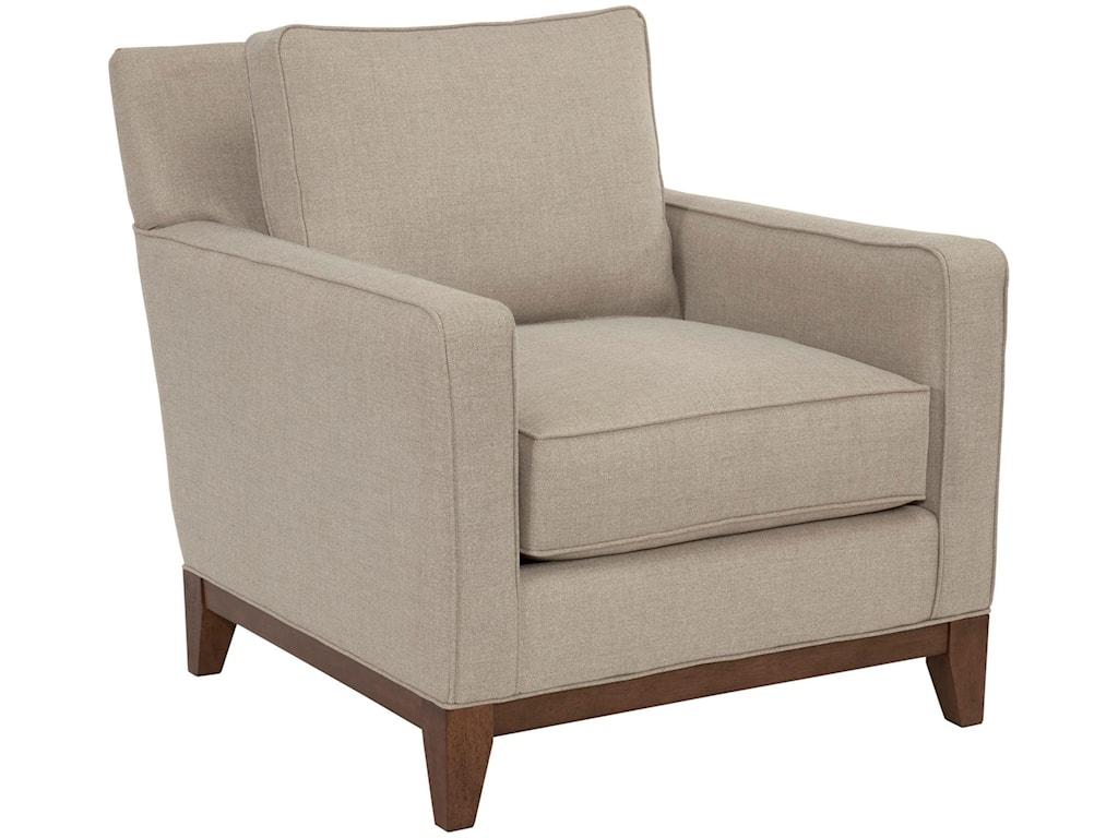 Broyhill designed by GlucksteinHome SuedeQuinn Chair