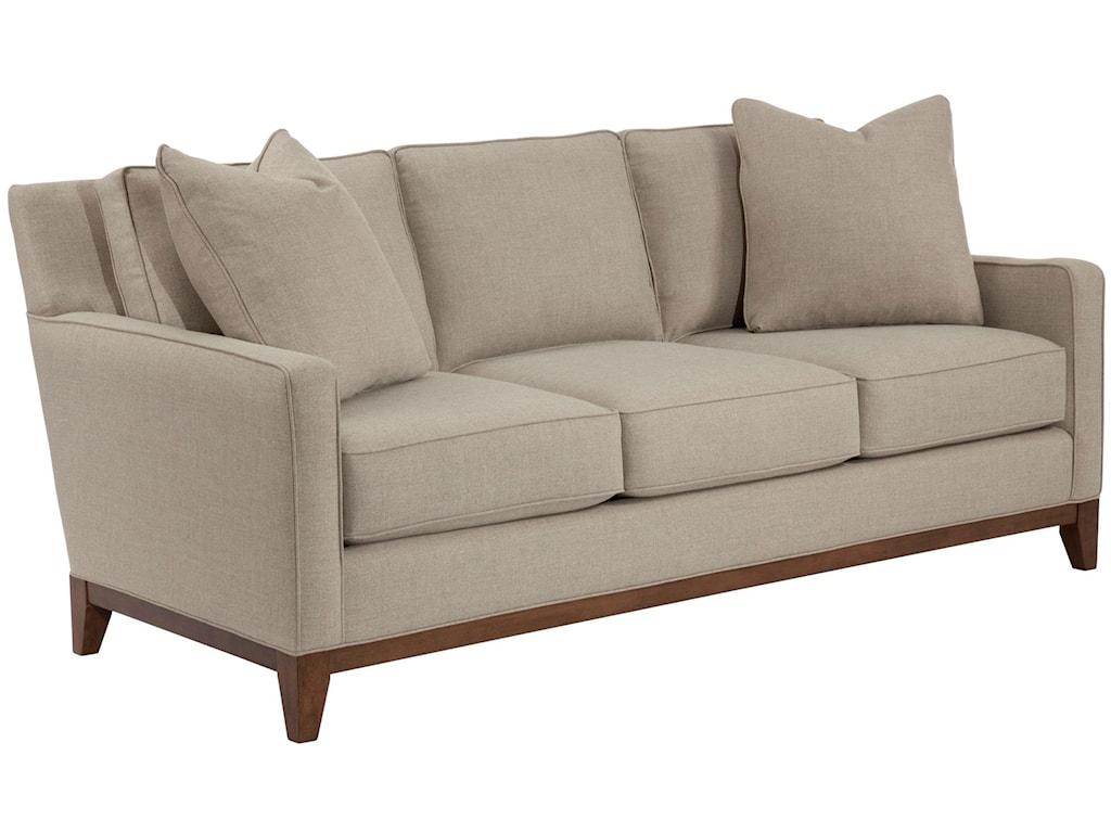 Broyhill designed by GlucksteinHome SuedeQuinn Sofa