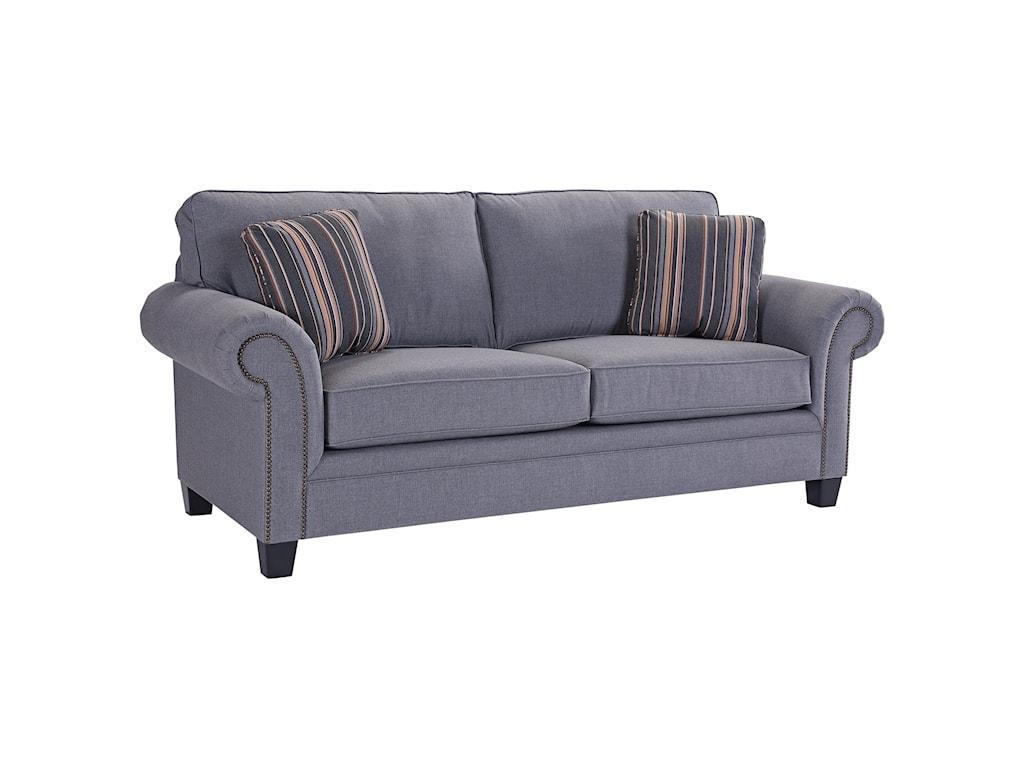 Broyhill Furniture TravisTransitional Queen Goodnight Sleeper Sofa