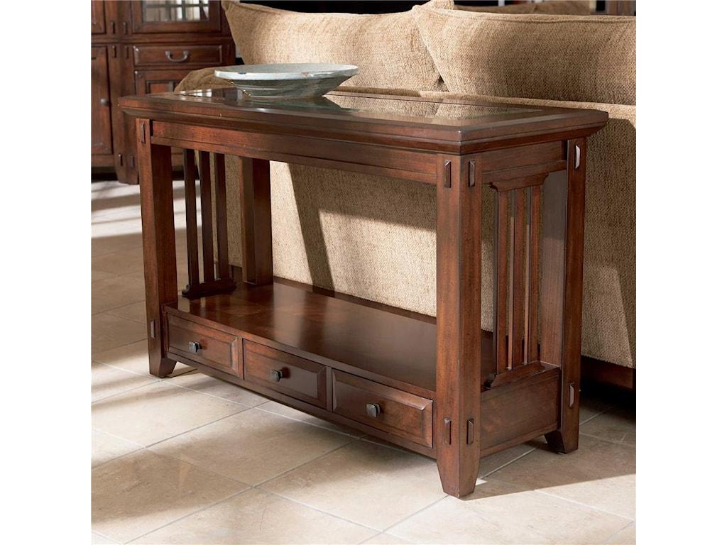 Broyhill Furniture Vantanathree Drawer Sofa Table