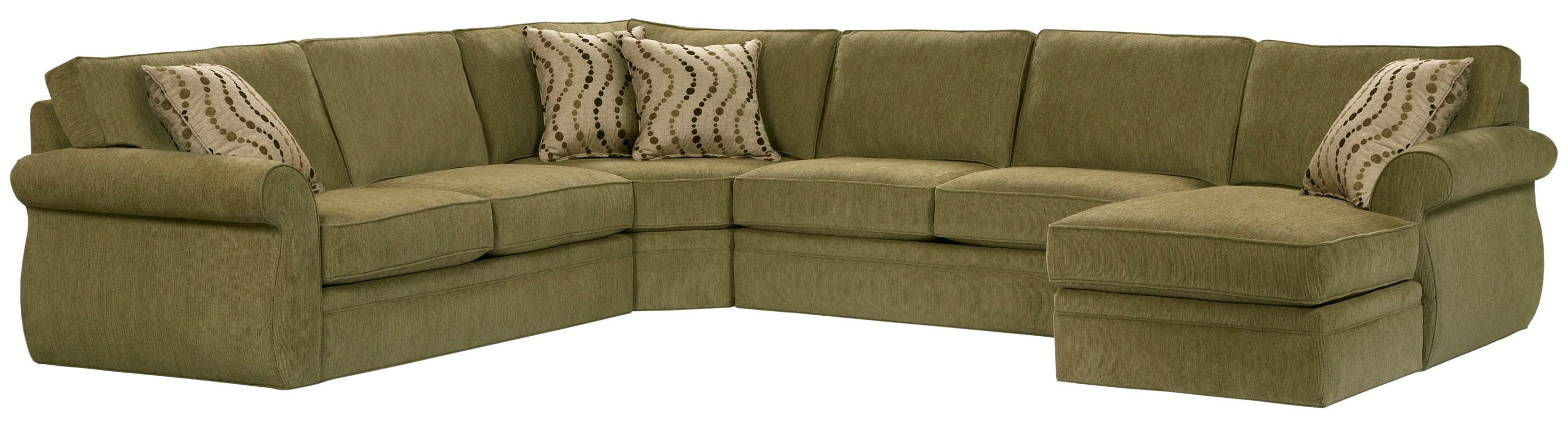 Broyhill Furniture Veronica Right Arm Facing Customizable Chaise Sectional    Hudsonu0027s Furniture   Sectional Sofas