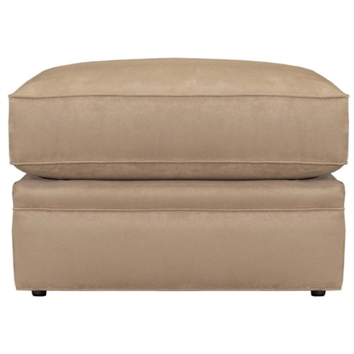 Broyhill Furniture Veronica Upholstered Storage Ottoman