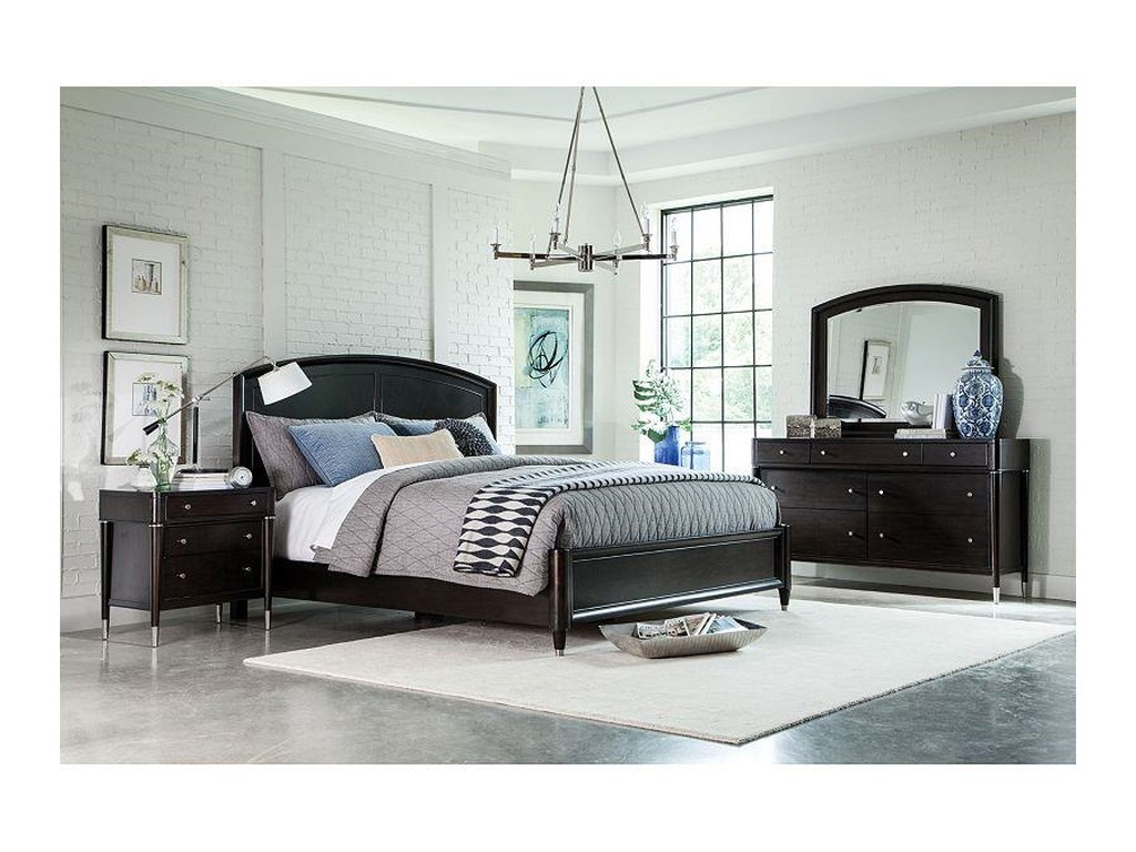 Broyhill Furniture VibeQueen Panel Bed with Storage