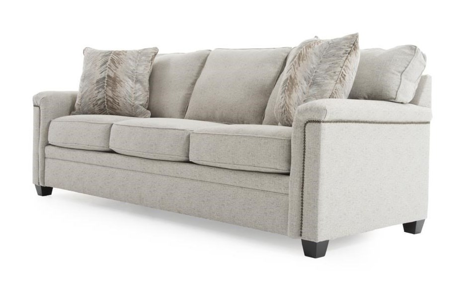 Broyhill Furniture WarrenSleeper Sofa w/ Goodnight Mattress