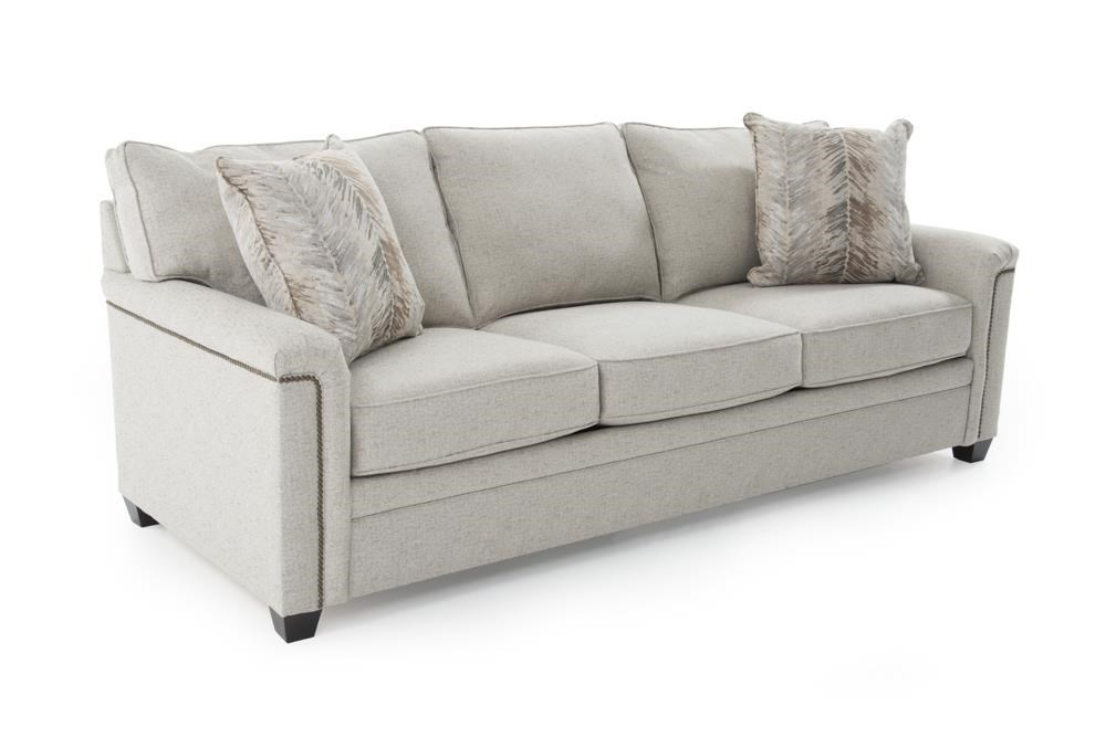 Broyhill Furniture Warren Sleeper Sofa with Nailhead Trim Accents
