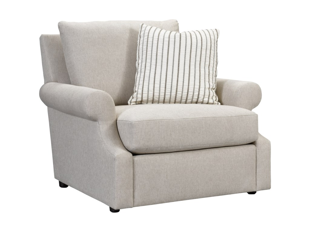 Broyhill Furniture WillaChair and Ottoman