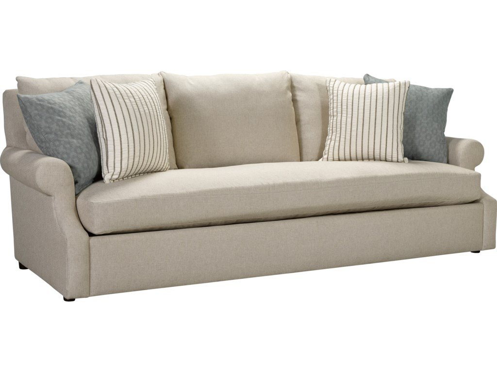 Broyhill Furniture Willa 4216 300 Casual Sofa With Single Seat Cushion Miller Home Sofas
