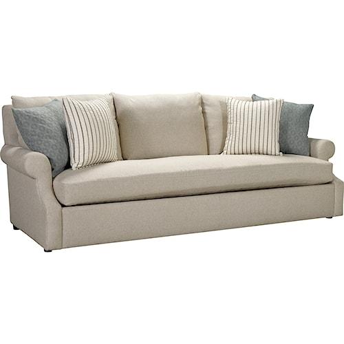 Broyhill Furniture Willa Casual Sofa With Single Seat Cushion