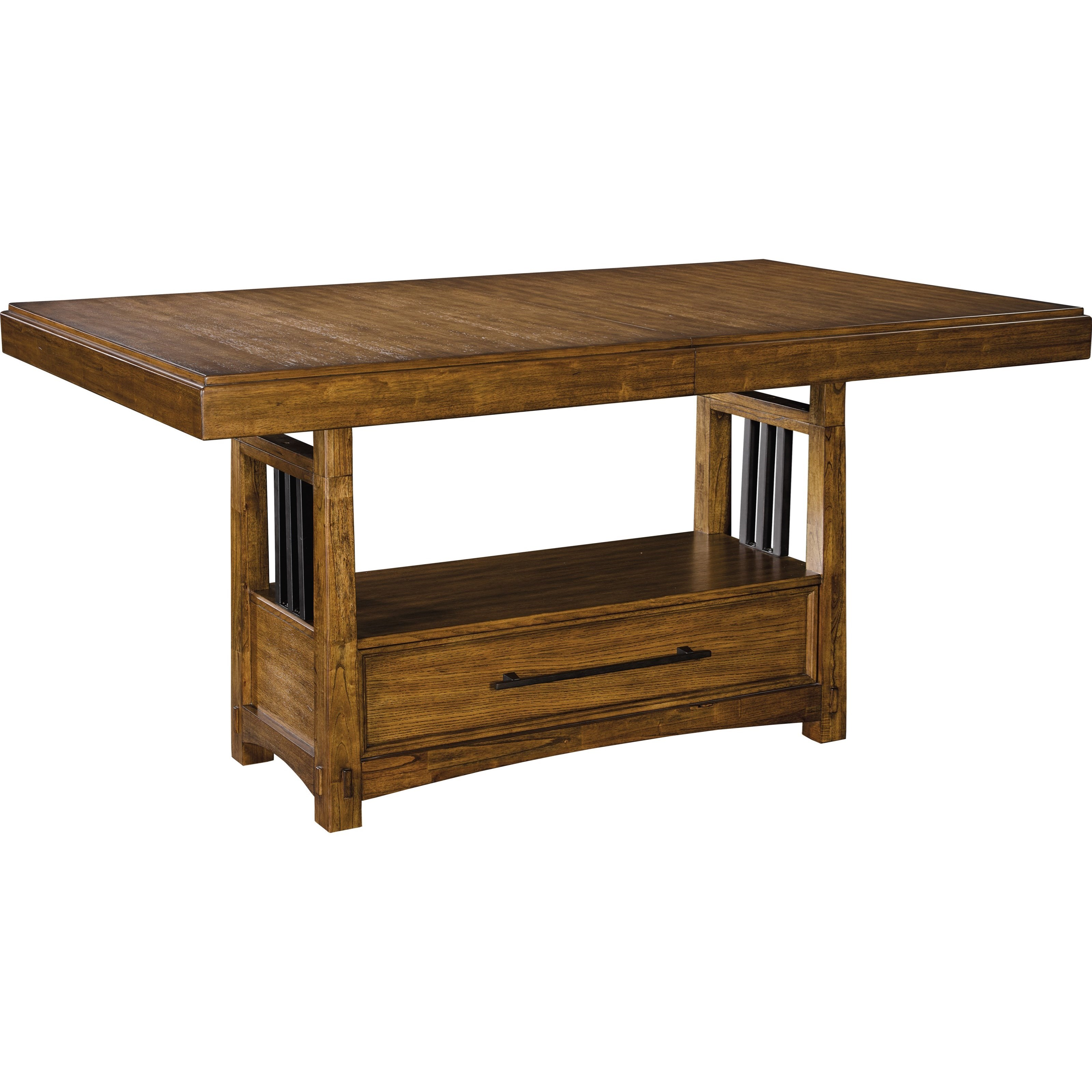 Broyhill Furniture Winslow Park Trestle Table ...