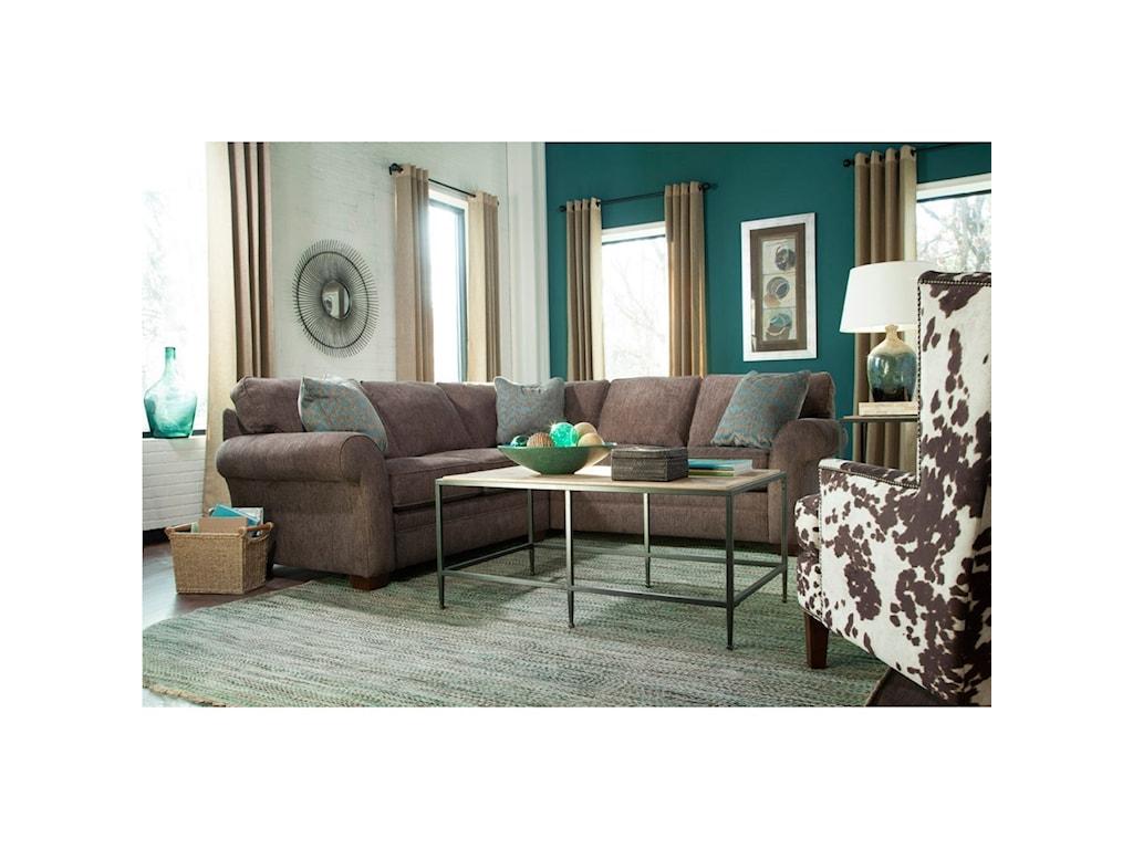 Broyhill Furniture ZacharySectional Sofa