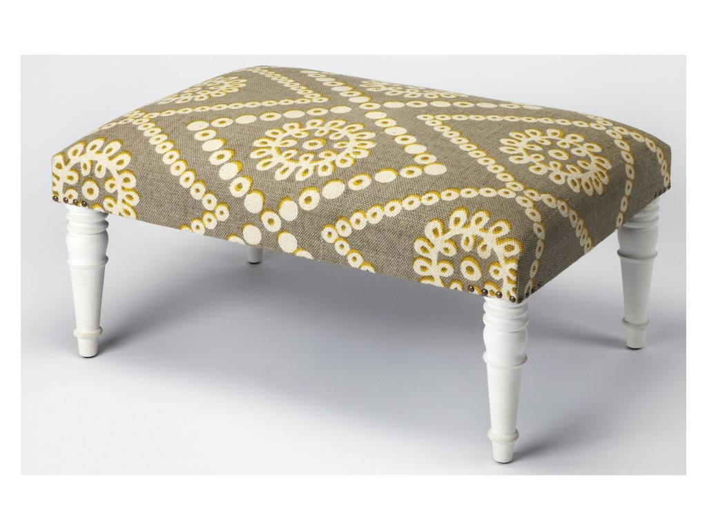 Butler Specialty Company Accent SeatingCocktail Ottoman