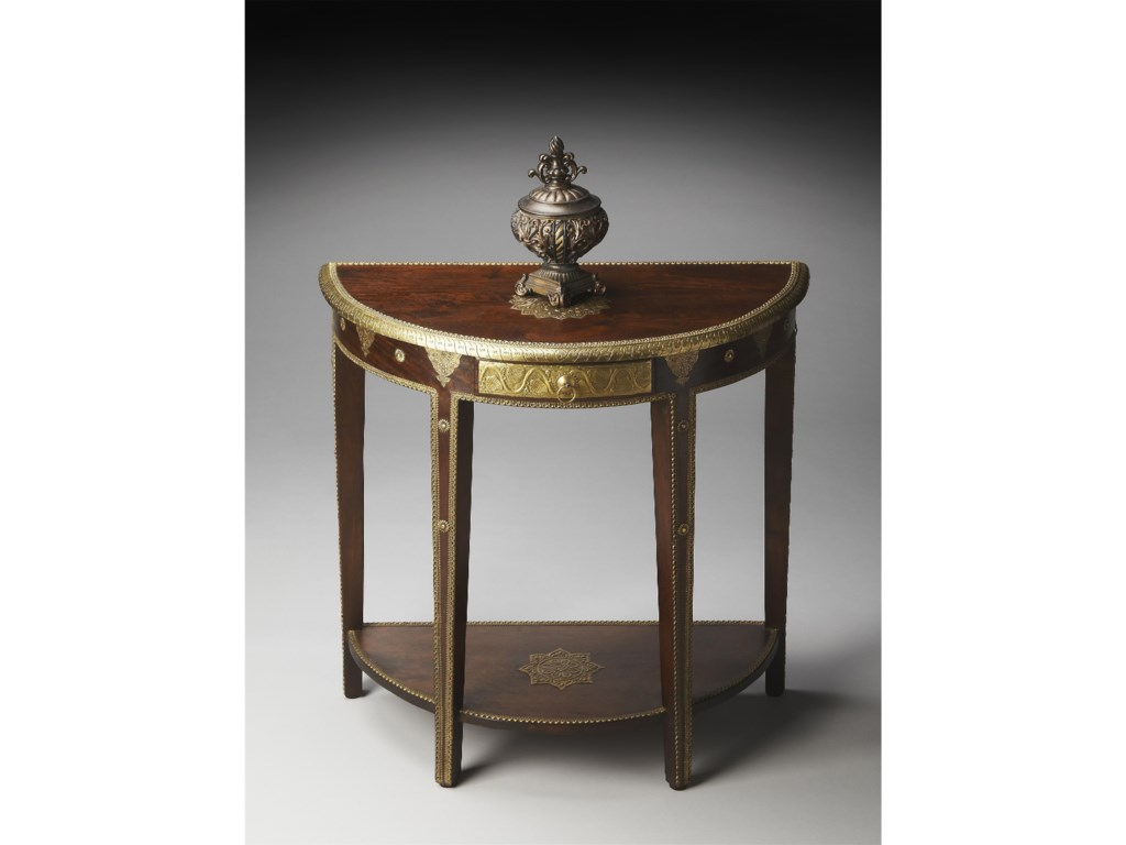 Butler Specialty Company ArtifactsDemilune Console Table