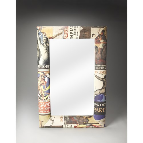 Butler Specialty Company Artifacts Wall Mirror