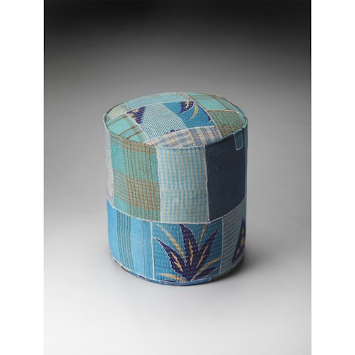 Butler Specialty Company Artifacts Pouffe