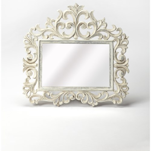 Butler Specialty Company Artifacts Favart Carved Wall Mirror