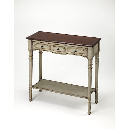 Butler Specialty Company Artist's Originals Banham Antique Gray Console Table