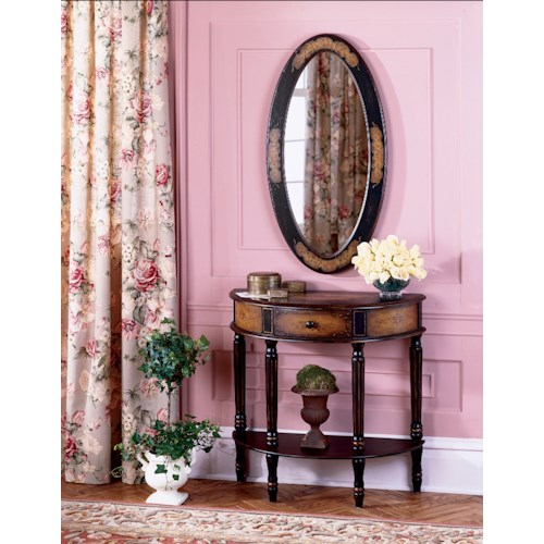Butler Specialty Company Artist's Originals Demilune Console Table