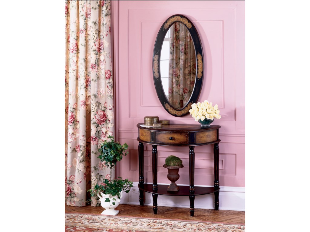 Butler Specialty Company Artist's OriginalsDemilune Console Table