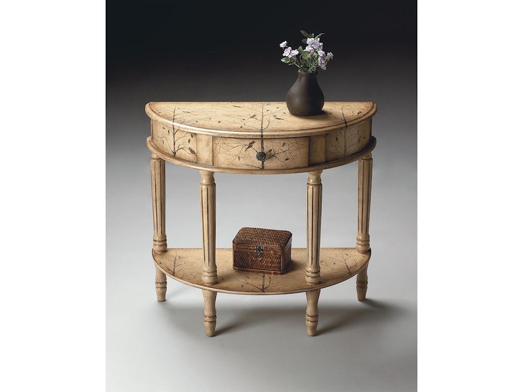 Butler Specialty Company Artist's OriginalsDemilune Console Table